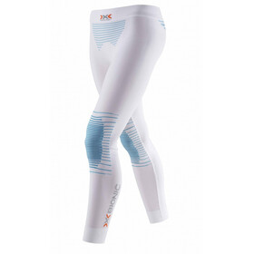 X-Bionic Energizer Pants long Damen white/sky blue